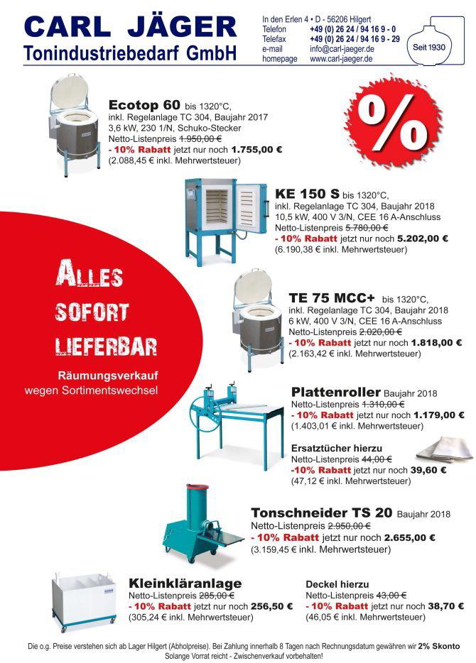Carl Jäger Homepage